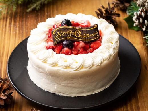 クリスマスケーキ ホワイトクリスマスミルクレープ