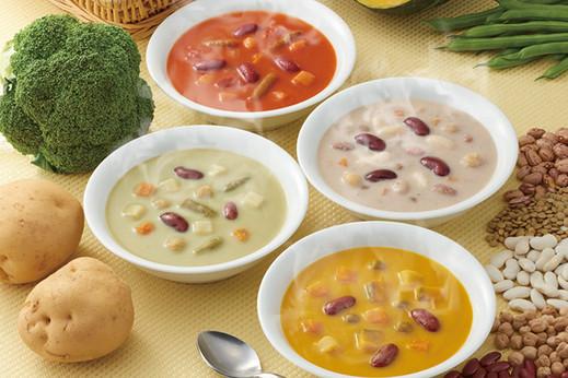 野菜と豆の具だくさんポタージュセット カゴメ健康直送便