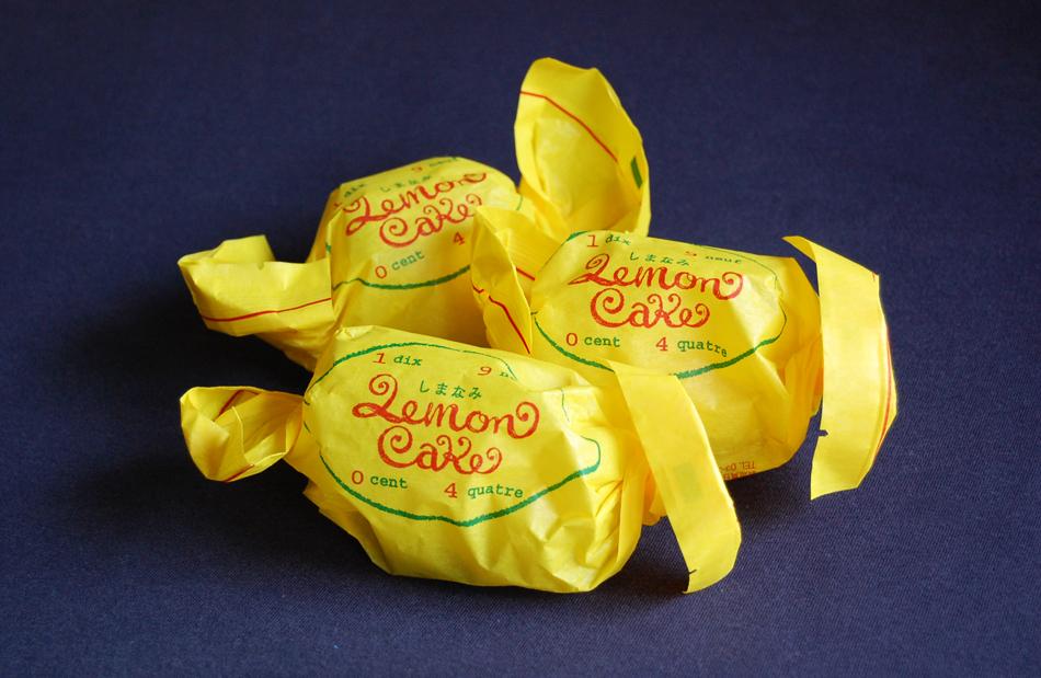 レモンケーキ3個