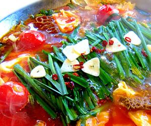 元祖 トリッパ鍋(モツのトマト鍋)