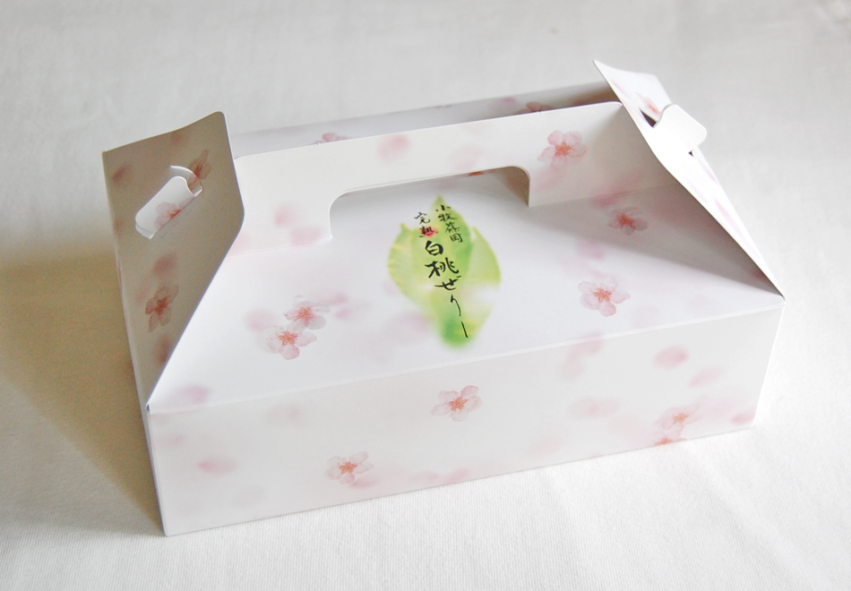 プチ完熟白桃ぜりーのパッケージ