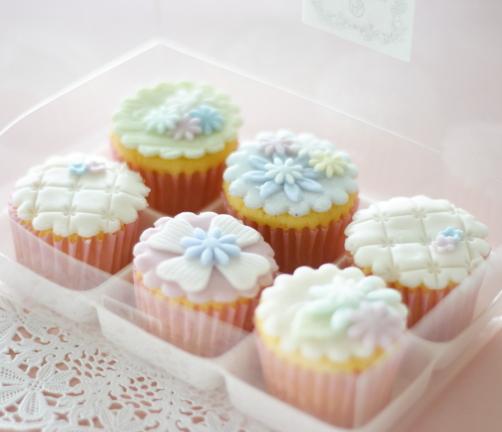 デコレーション カップケーキ 6個セット