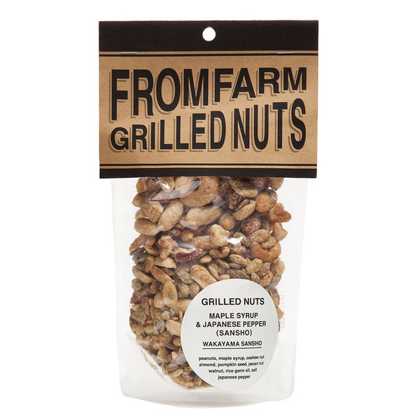 GRILLED NUTS (ミックスナッツ) メイプルシロップ&山椒 180g