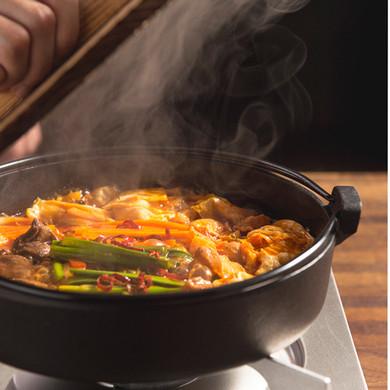 大阪名物もつすき鍋(野菜なし)