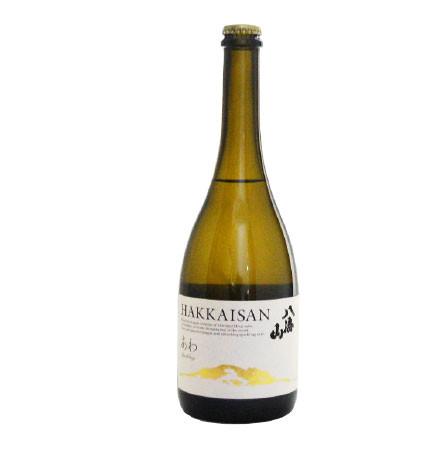 あわ 八海山 瓶内二次発酵酒 360mlハーフサイズ