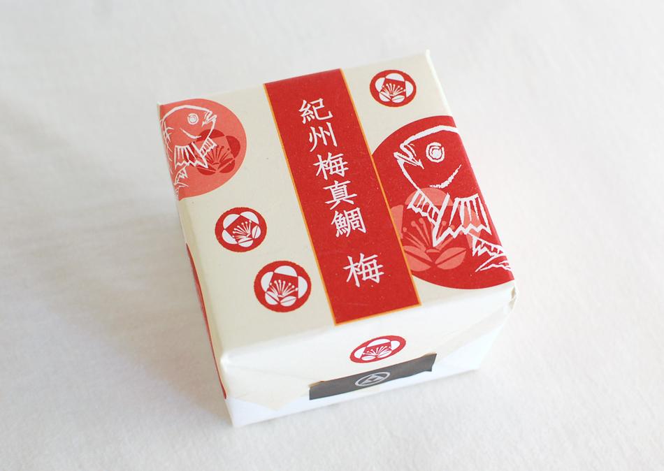 紀州梅真鯛梅 箱