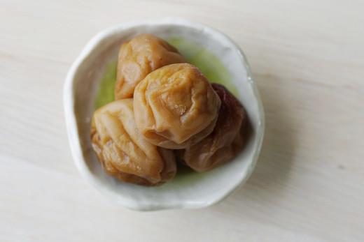 和歌山県産有機栽培のオーガニック減塩調味梅干し(うすしお味)