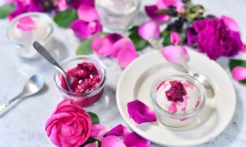 FRAGLACE バラのアイスクリーム ローズバニラ
