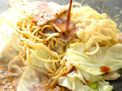 鶴橋コリアタウン繁盛鉄板焼き屋のやきそば4食set キムチでやせる
