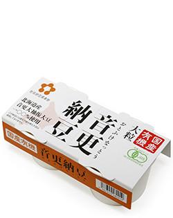 国産有機 音更納豆(大粒)30g×16食入