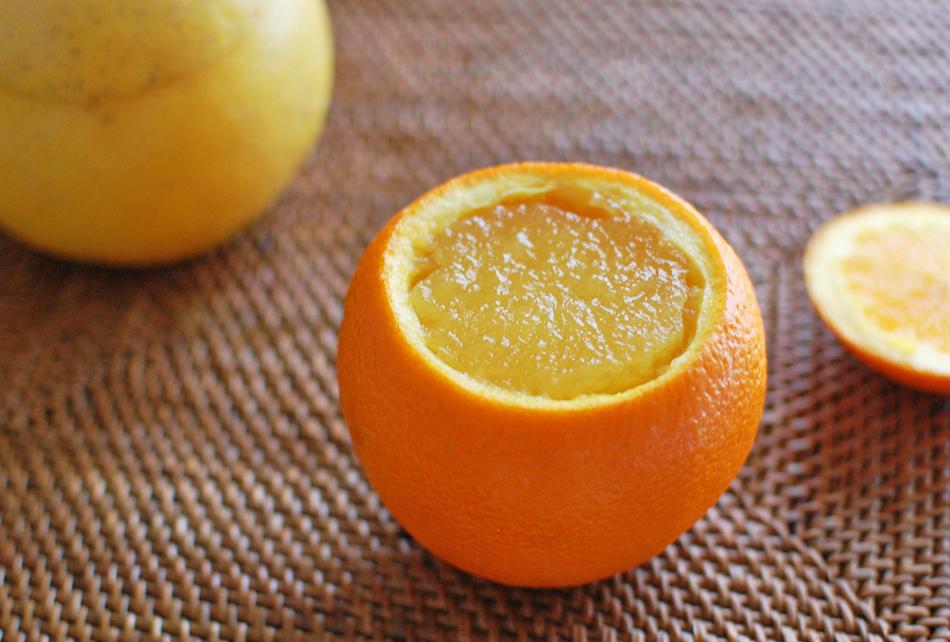 自家製くりぬきゼリーセット オレンジ