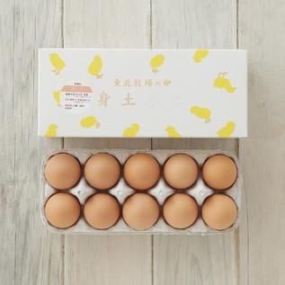 東北牧場の卵「赤玉」 10個入り