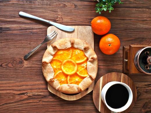 ロルズ型なしタルト オレンジ・チーズケーキ