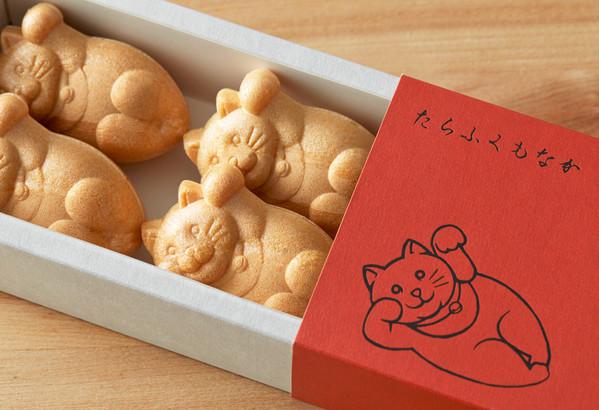 たらふくもなか 1箱(6個入り箱×1個) 御菓子司 白樺