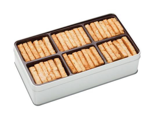 塩味のクッキー