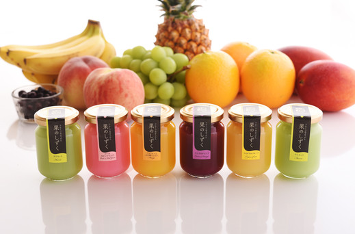 果のしずく・フルーツ水ようかん 6本入り