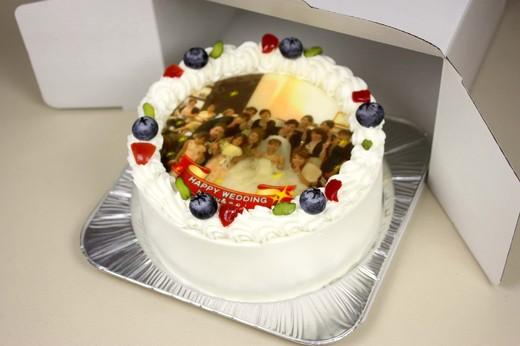 写真ケーキ(5号 15cm)