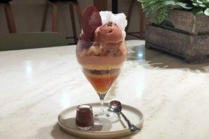 ビーントゥバーチョコレート グラスパフェ