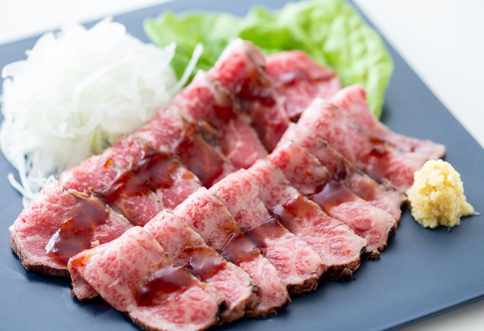 新食感!近江牛 特選和風とろ生ローストビーフ