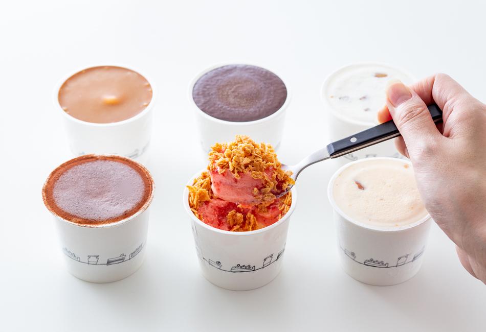 オリジナルアイスクリーム 6種類セット