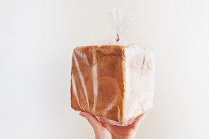 ネコノテ食パン パッケージ