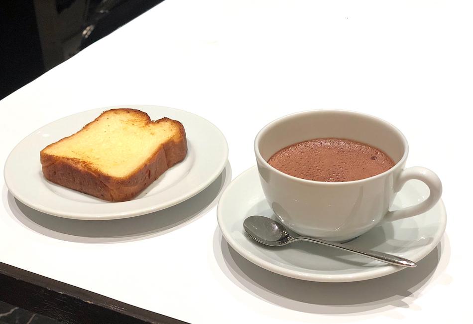 チョコラショートブリオッシュのマリアージュ