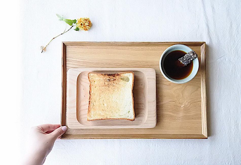 ネコノテ食パン 朝食