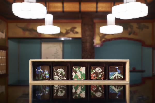 天井画ショコラ「竹林」