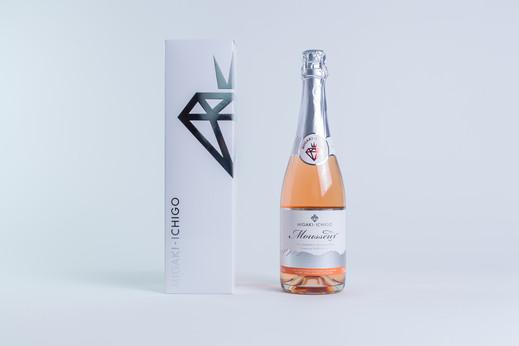 イチゴ スパークリングワイン ミガキイチゴ・ムスー