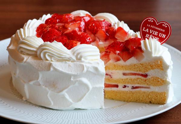 苺ショートケーキ15cm