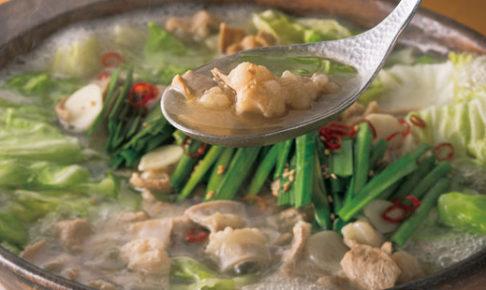 華味鳥の博多 白もつ鍋セット(水たき風)