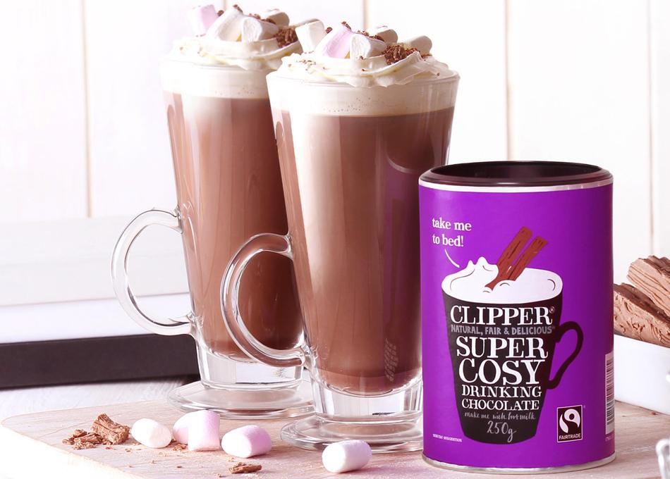 フェアトレード ドリンキング チョコレート 作ったところ