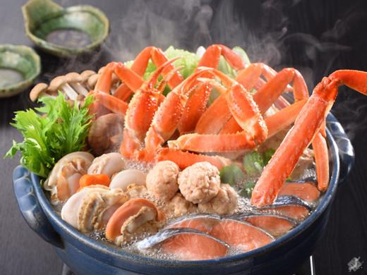 北の味覚を満喫!海鮮カニ鍋セット