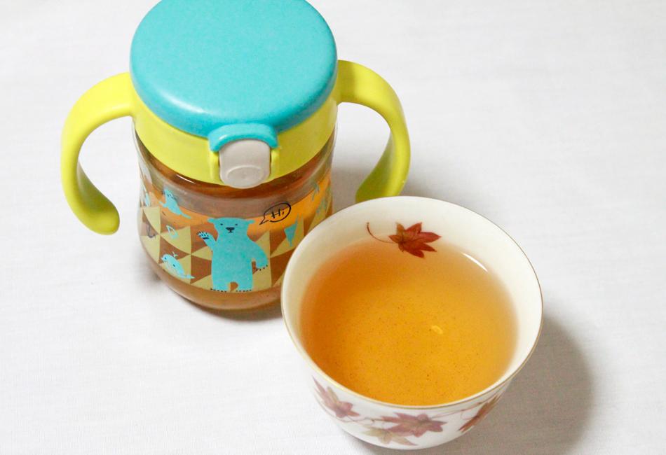 赤ちゃん番茶 淹れ方2