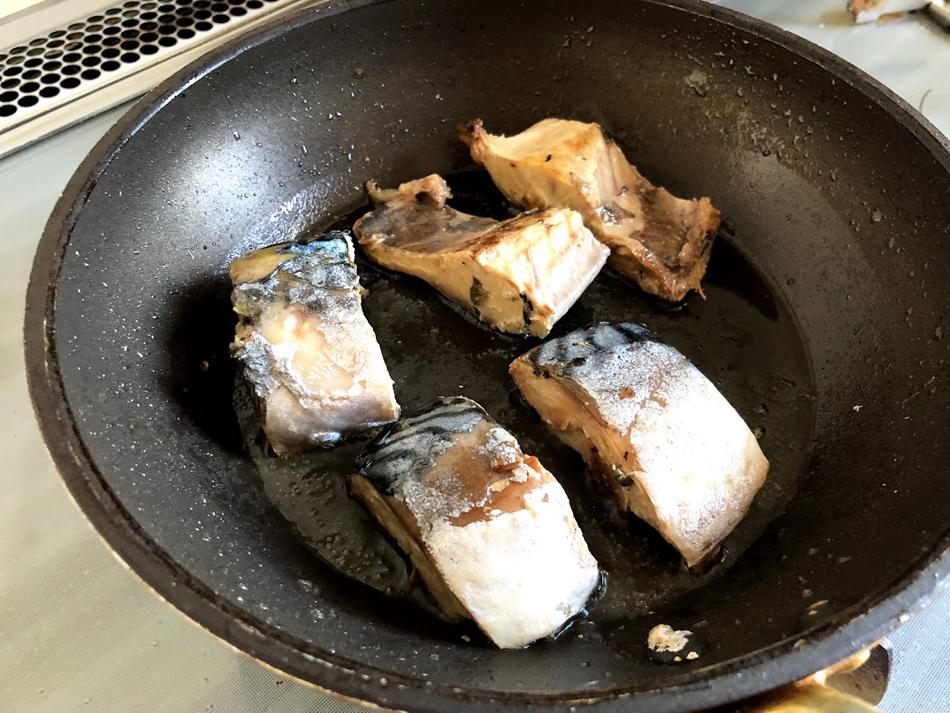 鯖サンドの作り方1
