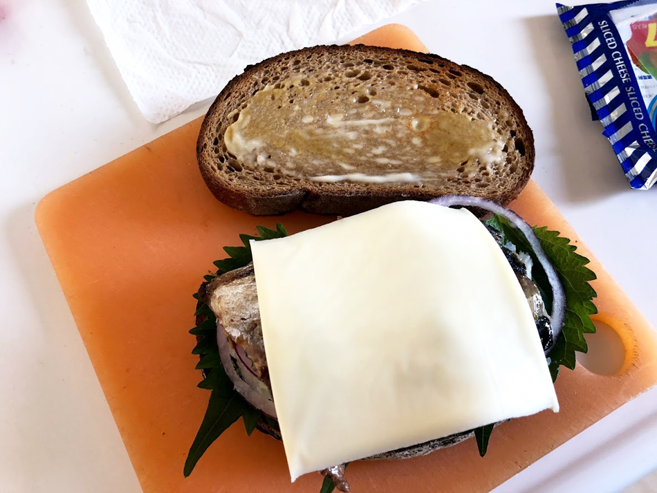 鯖サンドの作り方5
