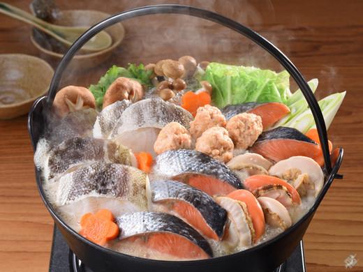 北海道の郷土料理!石狩鍋セット