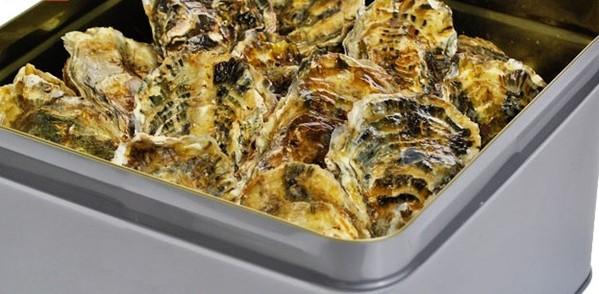 牡蠣 殻付き カンカン焼き