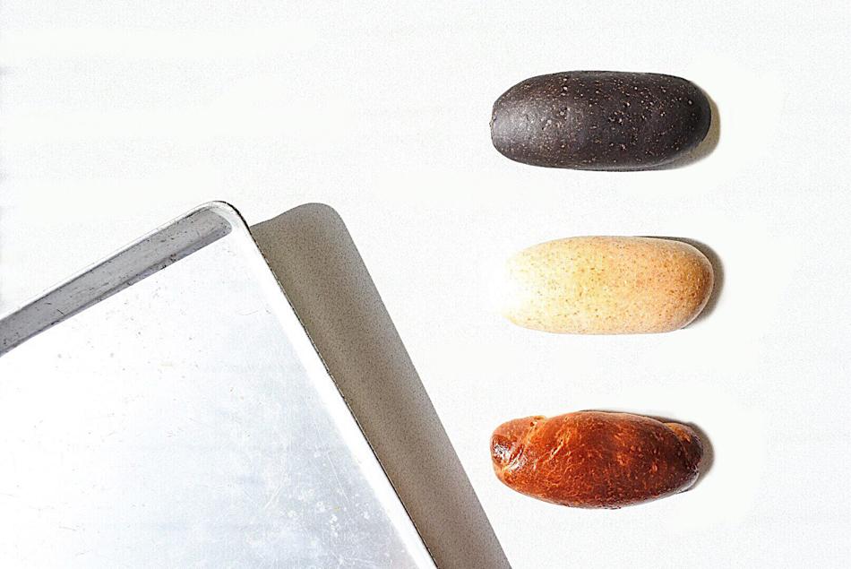 スイーツ3本セット(具なしパン3本付き) 具なしパン