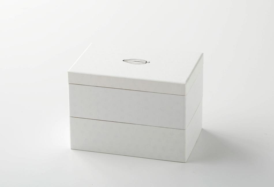 カカオ亭重 2段 箱