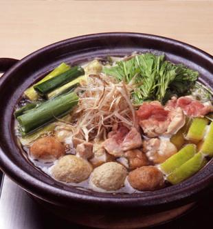 京地鶏鍋 特選・すっぽんスープ仕立て