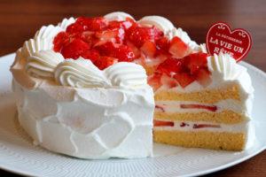 苺ショートケーキ15cm(5号)