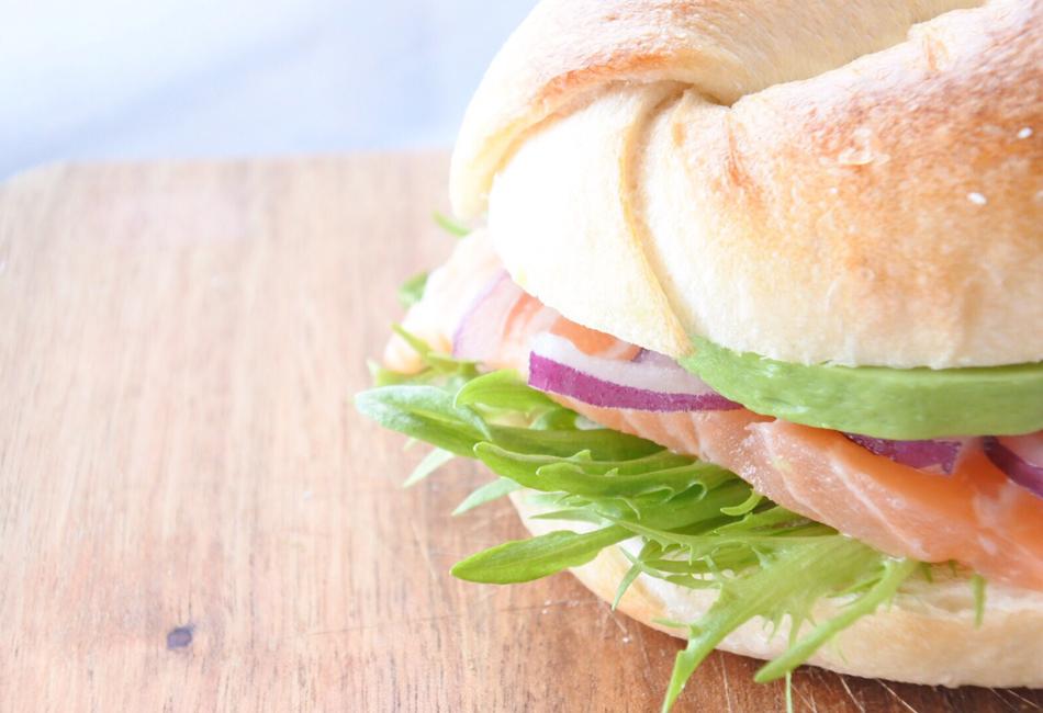 sino.a Bagel サンドイッチ