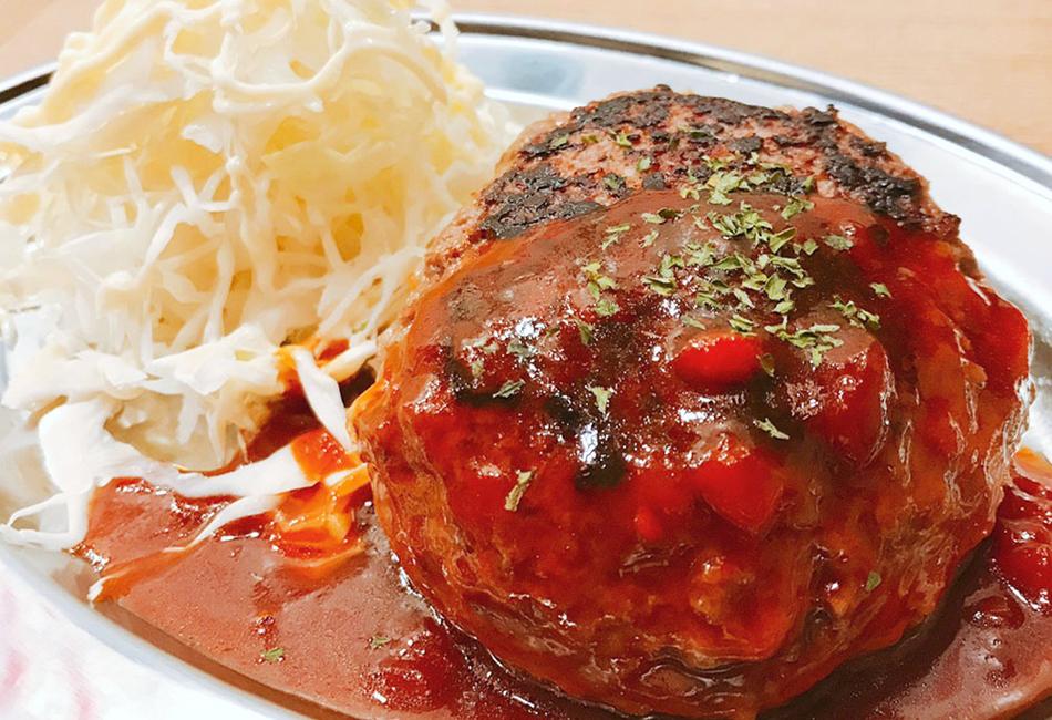 折戸の新鮮馬肉 ハンバーグ