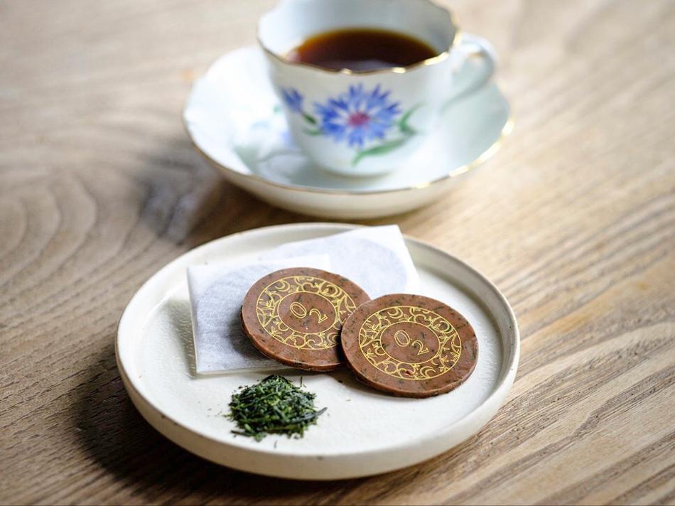 茶葉ショコラ(玉露)
