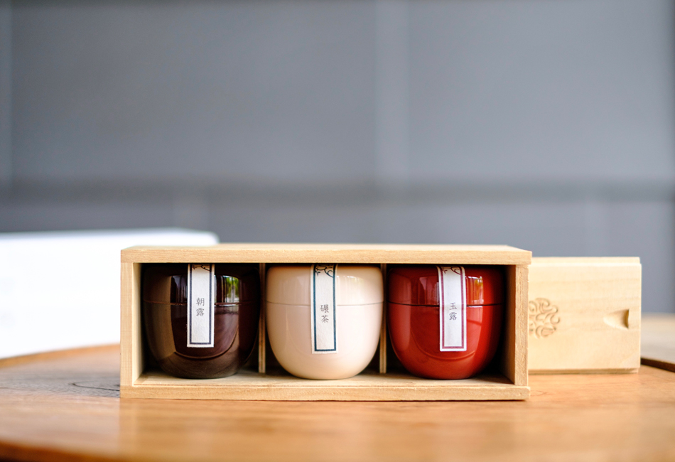 茶葉ショコラ桐箱セット