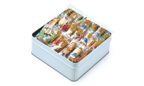 カレーのおせんべい 缶入り 300g