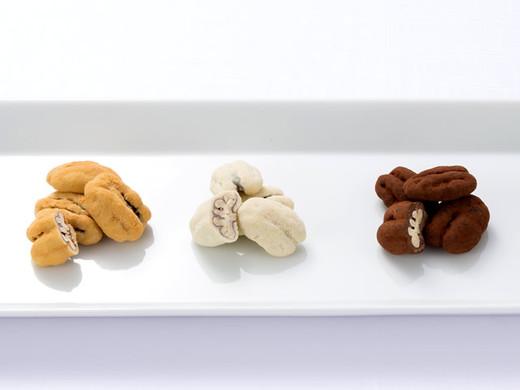 ペカンナッツショコラ 手提げボックス(キャラメル1袋・和三盆1袋・ココア1袋)