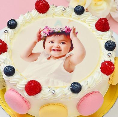 シェリーブランのオリジナル写真ケーキ