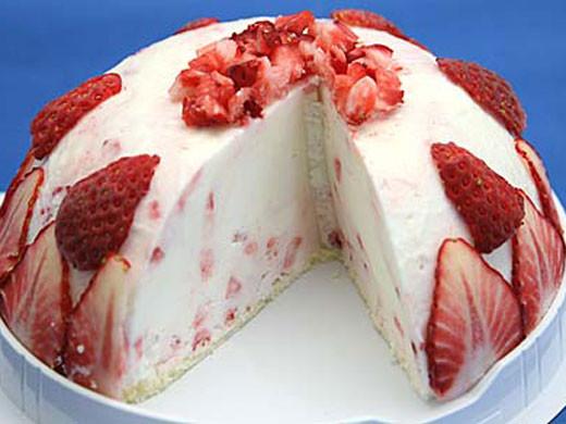 いちごヨーグルトアイスケーキ 魁ジェラートアイスクリーム
